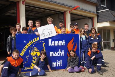 Foto zu Meldung: Sommerpause der Jugendfeuerwehr Rheinböllen