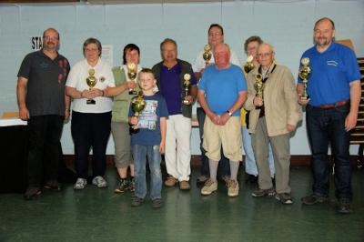 Foto zur Meldung: Wanderfreunde Wenings wieder Sieger in Gelnhaar