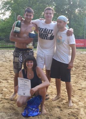 Foto zu Meldung: 6. Kreckwitzer Volkssport-Beachvolleyballturnier