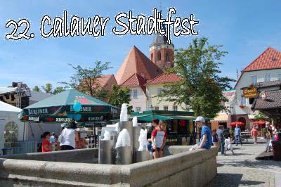 Foto zur Meldung: Calau feiert vom 15. bis 18. August sein 22. Stadtfest!