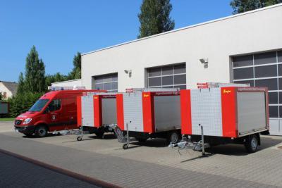 Vorschaubild zur Meldung: Neue Technik für die Oranienburger Feuerwehr