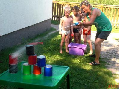 Foto zur Meldung: Plitsch - Platsch - Wasserspaß