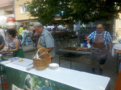 Foto zur Meldung: Siedergemeinschaft beim Neutraublinger Bürgerfest