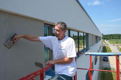 Foto zur Meldung: SeeCampus Niederlausitz startet frisch saniert in neues Schuljahr