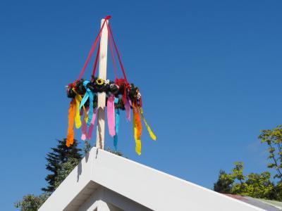 Foto zur Meldung: Richtfest im Fuchsbau