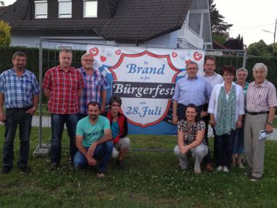 Foto zur Meldung: 11. Brander Bürgerfest am kommenden Sonntag, 28. Juli