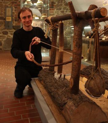 Flammen, Brände und Kanonen – der Museumsclub begibt sich auf die Spur des Feuers im Senftenberger Schloss