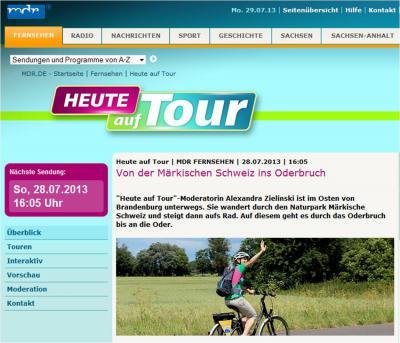 """Foto zur Meldung: MDR war """"Heute auf Tour"""" in der Region"""