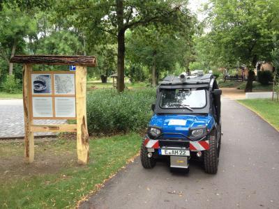 Foto zur Meldung: Qualitätssicherung des Radfernwegenetzes der Energieregion Lausitz