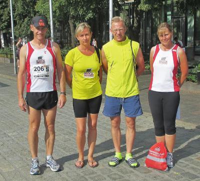 Foto zur Meldung: 42,195 Km - Marathonnacht in Rostock