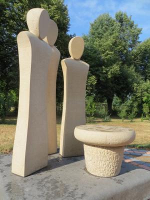 Bild der Meldung: Neue Urnengemeinschaftsanlage auf dem Hönower Friedhof