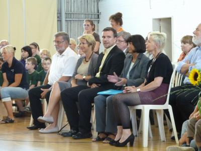 Foto zur Meldung: Viel Besuch in unserer Schule