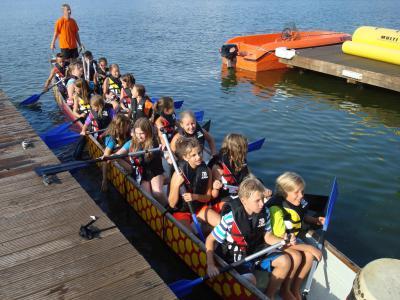 Foto zur Meldung: Drachenbootrennen 2013