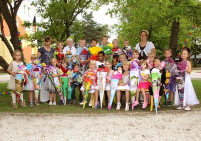 Foto zur Meldung: Schulanfang 2013 an der Grundschule Rückersdorf