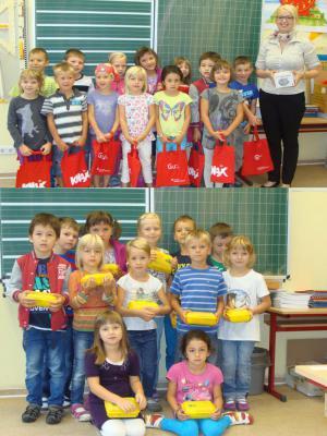 Foto zu Meldung: Überraschungen in der ersten Schulwoche