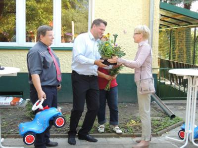 """Bild der Meldung: """"Gartenkrümel"""" freuen sich über ihre tolle Kita in Birkenstein"""
