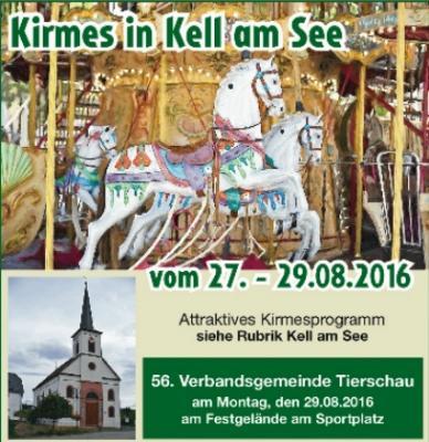 Vorschaubild zur Meldung: Keller Kirmes vom 27. - 29. August 2016