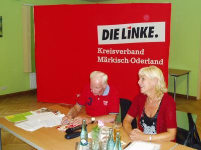 Foto zur Meldung: Wahlforum der LINKEN im Bürgersaal