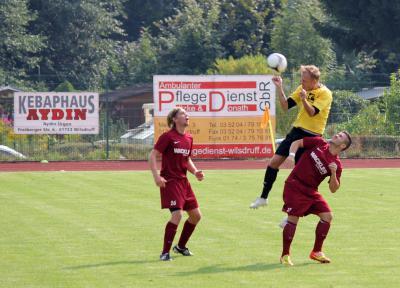 Foto zur Meldung: 3. Spieltag Kreisoberliga 2013/14: SG Motor Wilsdruff - SG Kesselsdorf 1:1 (0:1)