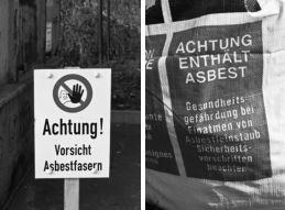 Foto zur Meldung: Asbestentsorgung
