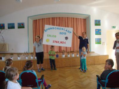 Foto zur Meldung: Sponsorenlauf in Golzow