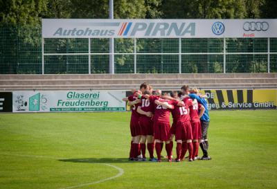 Foto zur Meldung: 4. Spieltag Kreisoberliga 2013/14: VFL Pirna-Copitz II - SG Motor Wilsdruff 2:1 (1:1)