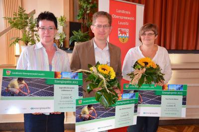 Foto zur Meldung: Energiepreis des Landkreises wurde am Donnerstag verliehen
