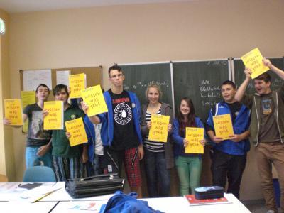Foto zur Meldung: Schüler erhalten INSIDER