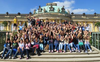 Foto zur Meldung: 4. Jugendolympiade Potsdam-Luzern