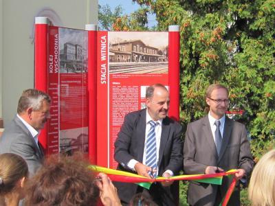 Foto zur Meldung: Touristisches Informations- und Leitsystem an der Ostbahn jetzt komplett