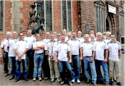 Foto zur Meldung: Deutsch-Französische Radtour von Bremen nach Wenings