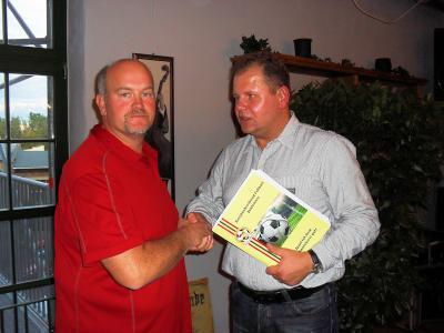 Foto zur Meldung: Wahl des neuen JA-Vorsitzenden KFV Fußball Saalekreis