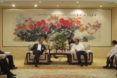 Foto zur Meldung: Borken will Change in China nutzen