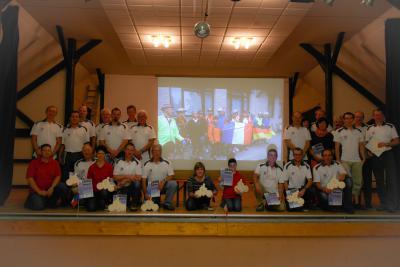 Foto zur Meldung: Deutsch-Französische  Radfahrergruppe zurück in Wenings