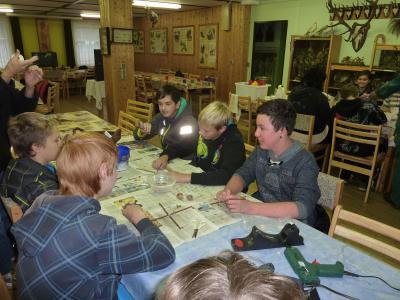 Foto zur Meldung: Exkursion in das Waldschulzentrum Hainholz
