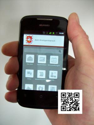Foto zur Meldung: Homepage des Amtes Krempermarsch überarbeitet und nun auch für Smartphones verfügbar