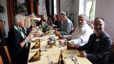Foto zur Meldung: UMA -Delegation aus Schweden für drei Tage bei der Initiative Jugendarbeit Neuruppin e.V..
