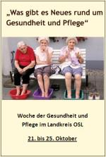 """""""Woche der Gesundheit und Pflege"""" startet am 21. Oktober"""
