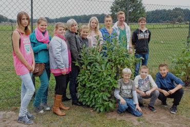 Foto zur Meldung: Groß Laasch - Jugendclub mit Außenwirkung