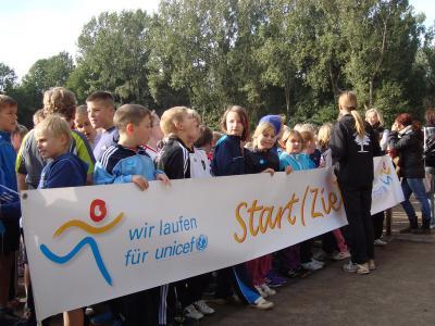 Foto zur Meldung: Wir laufen für Unicef - 4.10.2013