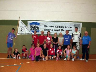 Foto zur Meldung: Ferienfreizeit in Laage – da ist auch mal ´ne Beule mit dabei!