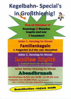 Foto zu Meldung: Neue Veranstaltungsangebote für die Kegelbahn Großthiemig