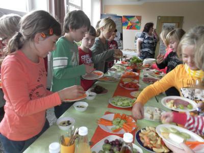 """Foto zur Meldung: Netto Projekt """"Gesunde Ernährung"""""""