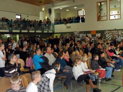 Foto zur Meldung: 50. Schuljubiläum an der Grund- und Oberschule Schenkenland