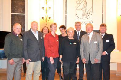 Vorschaubild zur Meldung: Ehrenamtliches Engagement in Falkensee – Bürgerpreisverleihung 2013