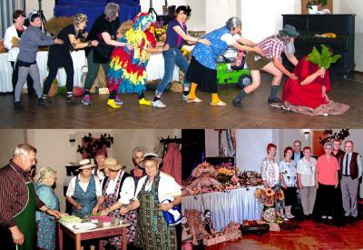 Foto zur Meldung: Hirschfelder Senioren feierten ihr Erntefest