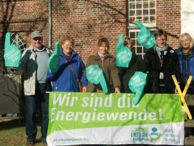 """Foto zu Meldung: Bürgerinitiative """"Grünes Tor Rehfelde"""" an der Seite von Atterwasch"""