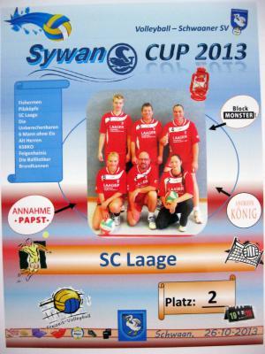 Foto zur Meldung: Laager Club-Volleyballer in 5 Tagen zwei Mal am Start