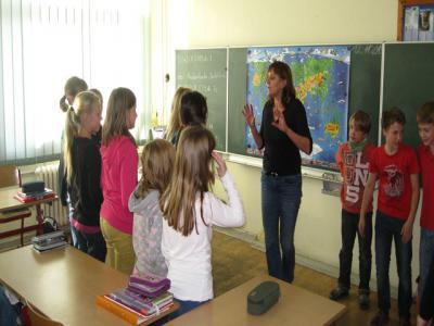 Foto zu Meldung: Der Shiatsu-Kurs mit Frau Kudraschow hat begonnen