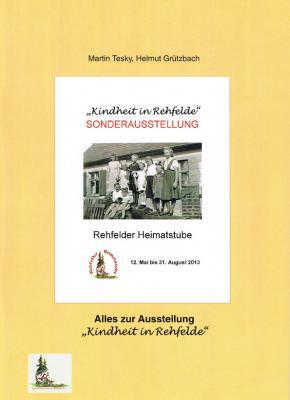 """Foto zu Meldung: Broschüre """"Kindheit in Rehfelde"""" erschienen"""